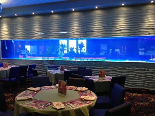 3,000 gallon restaurant aquarium
